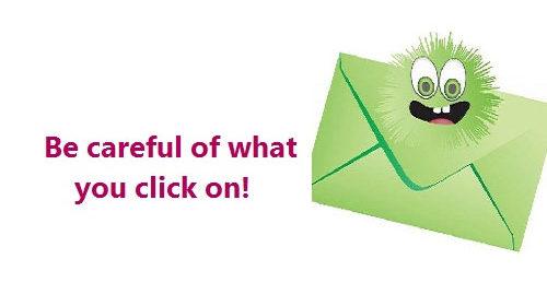 click on envelope