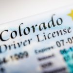 CLOSE UP PICTURE OF COLORADO DRIVERS LICENSE